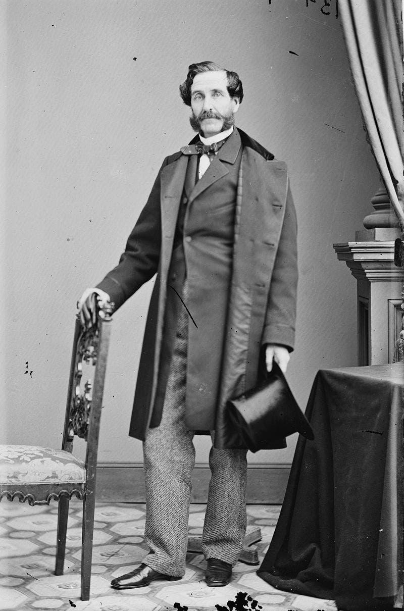 صورة لعمدة نيويورك الجمهوري جورج أوبدايك