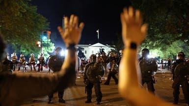 انتهاء التوتر بمحيط البيت الأبيض مع بدء حظر التجول