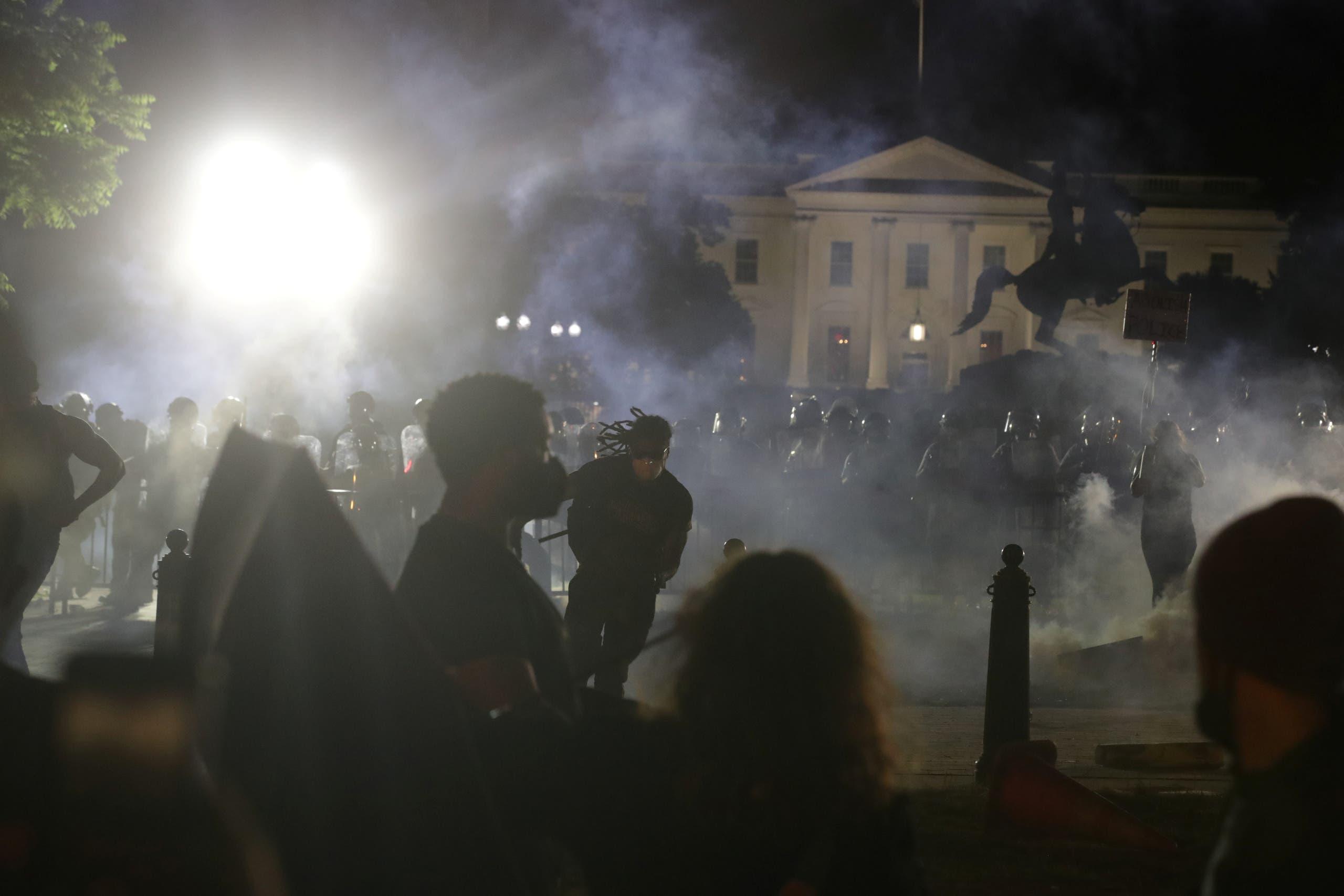 من التظاهرات الأميركية