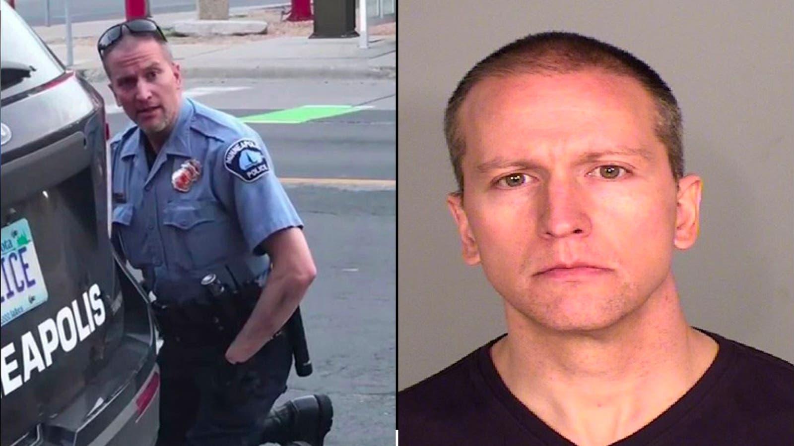 الضابط السابق ديريك شوفين