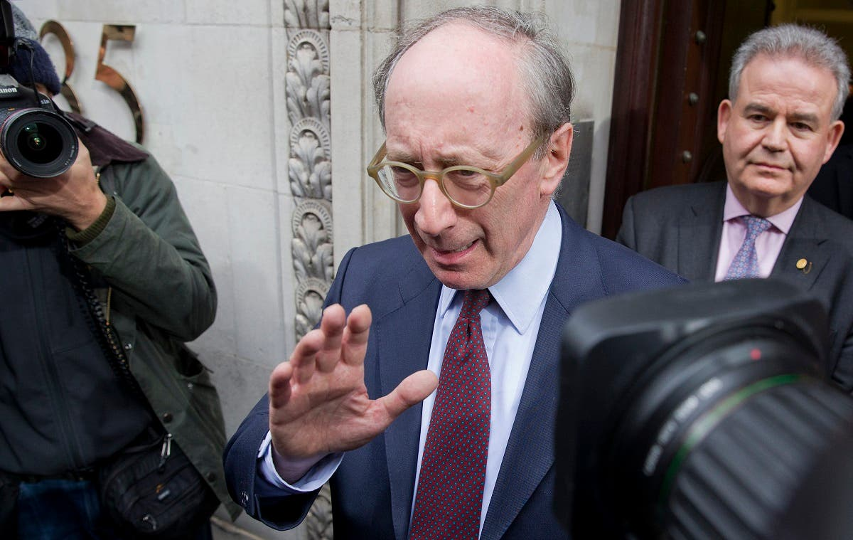 Former UK Foreign Secretary Malcolm Rifkind, the letter's lead author. (File photo: AFP)