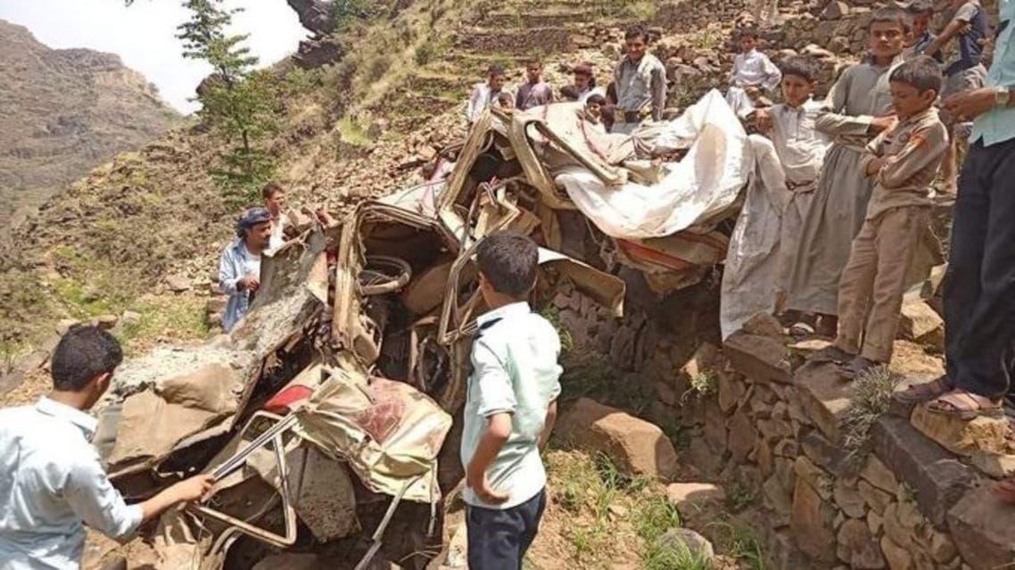 اليمن - حادث سيارة