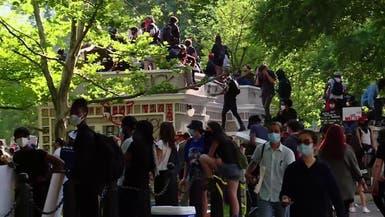 حظر تجوال في واشنطن بعد تظاهراتقرب البيت الأبيض