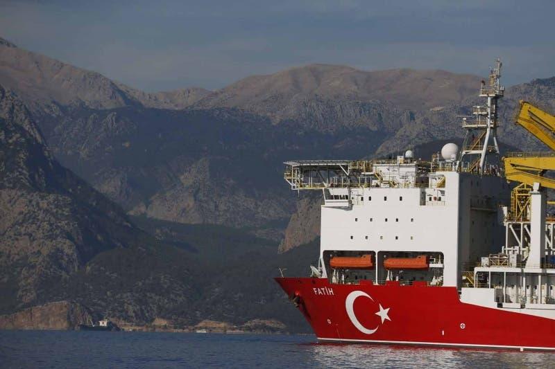 سفينة التنقيب التركية