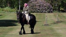 Coronavirus: Queen Elizabeth back in the saddle as British lockdown eases
