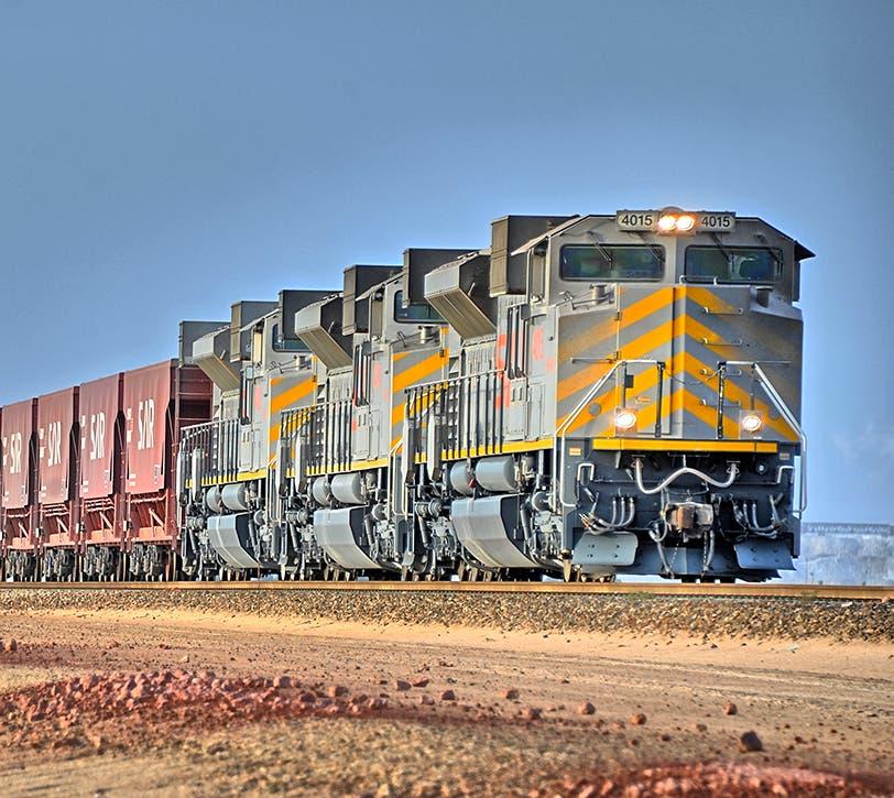 SAR freight train. (SAR)