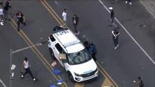 Thirteen cops injured in Philadelphia violent protests over George Floyd death