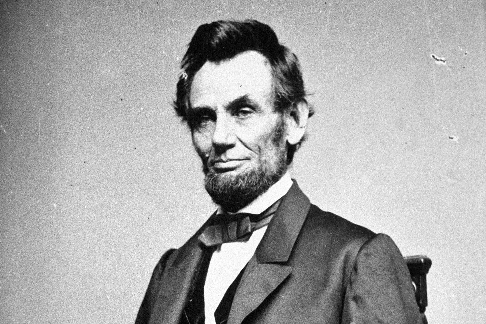 صورة للرئيس الأميركي أبراهام لنكولن