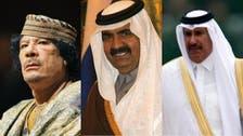 'الجزیرہ لیبیا مخالفین کومدعو نہیں کرےگا':سابق امیرِقطراوروزیراعظم کی قذافی کو یقین دہانی