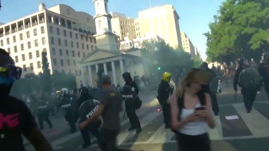 USA: Protest