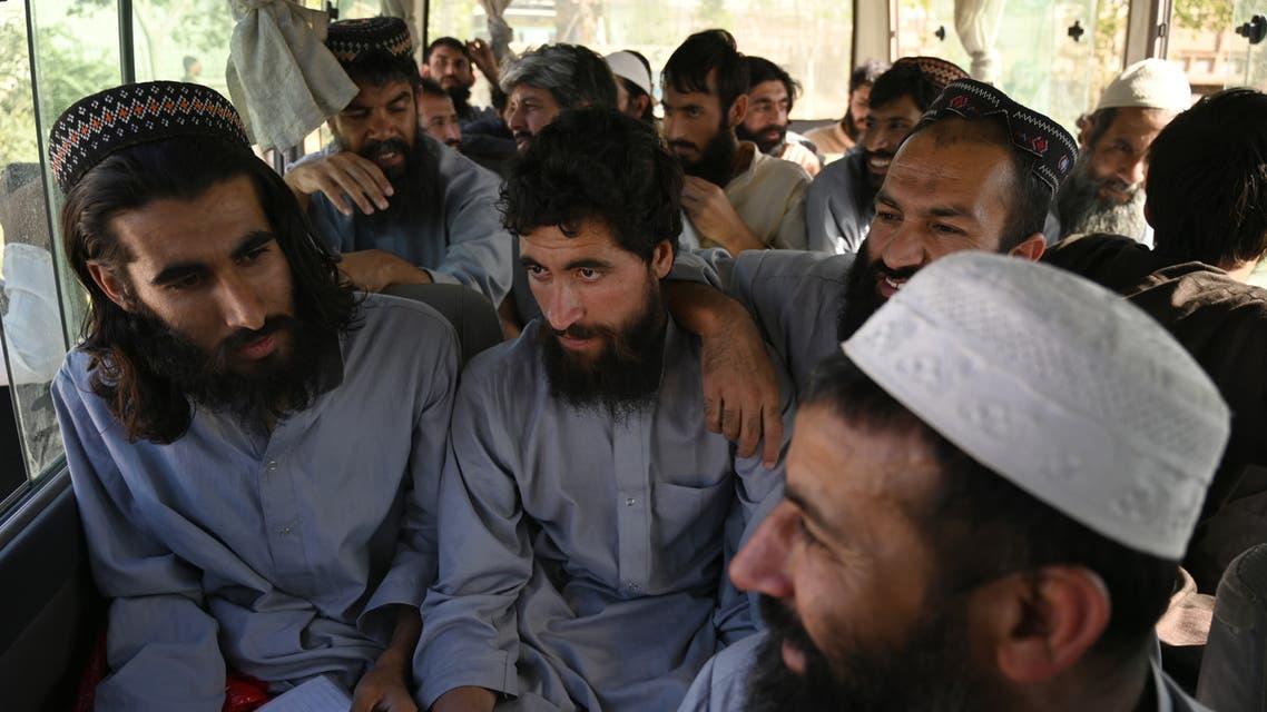 عناصر من طالبان أطلق سراحهم مؤخرا(أرشيفية- فرانس برس)