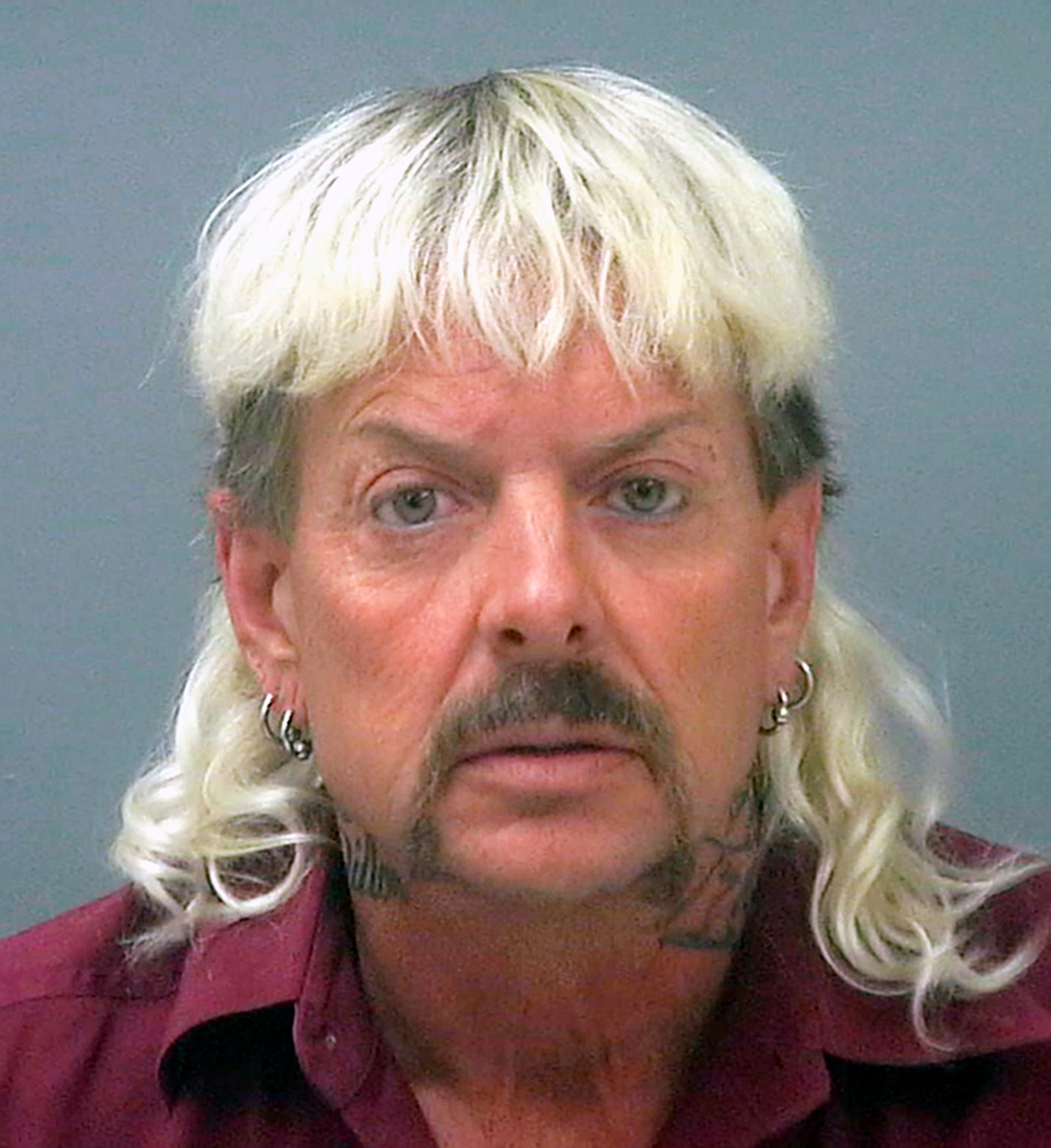This undated file photo provided by the Santa Rose County Jail in Milton, Fla., shows Joseph Maldonado-Passage, also known as Joe Exotic. (AP)