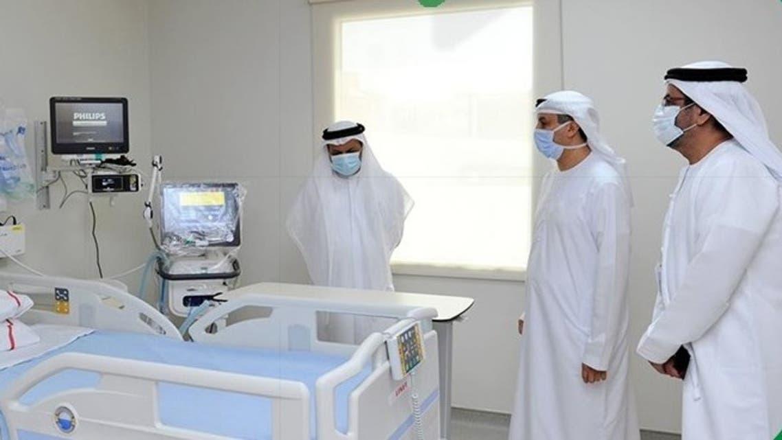 Dubai Health Authorities launces new medical facility for coronavirus patients