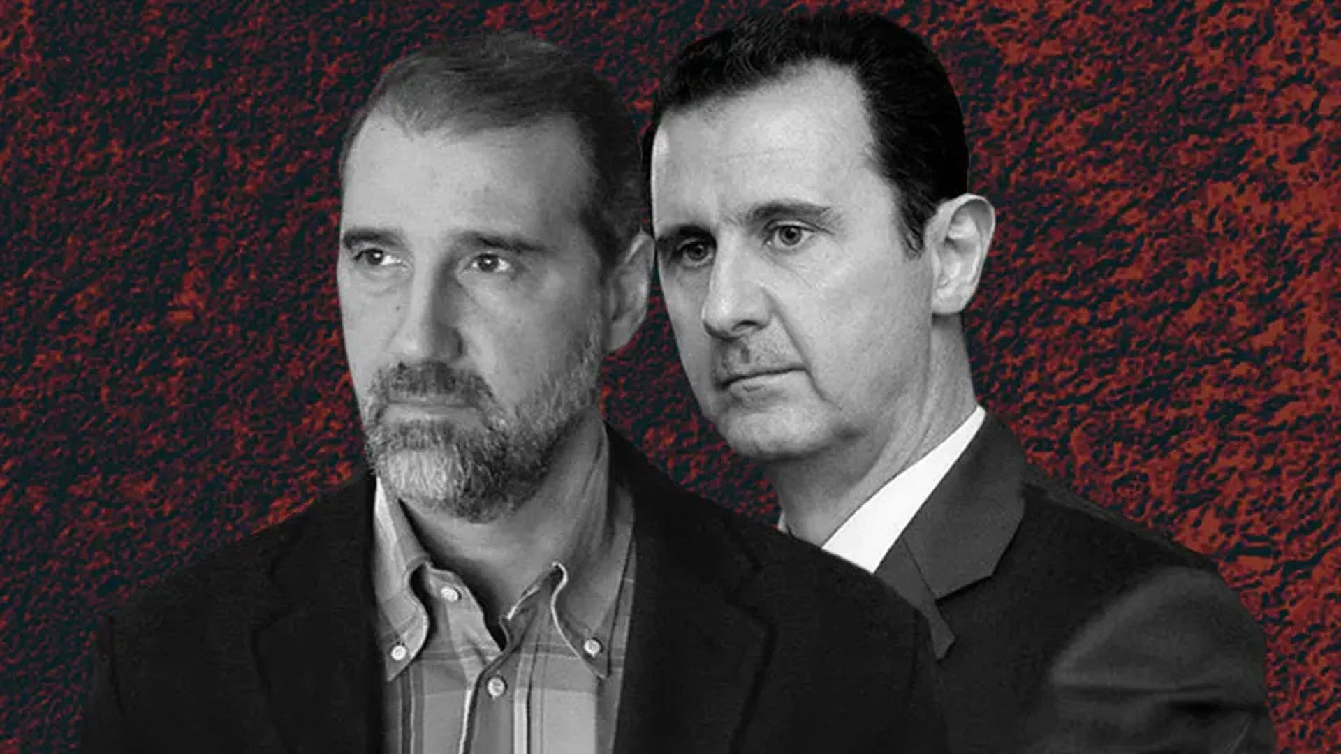 بشار الأسد ورامي مخلوف