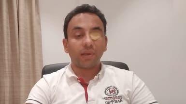 بالفيديو ليبي يتهم وزير داخلية الوفاق: فقع عيني بملعقة