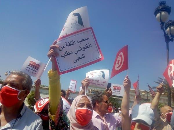 """غضب في الشارع التونسي.. """"ارحل يا الغنوشي"""""""