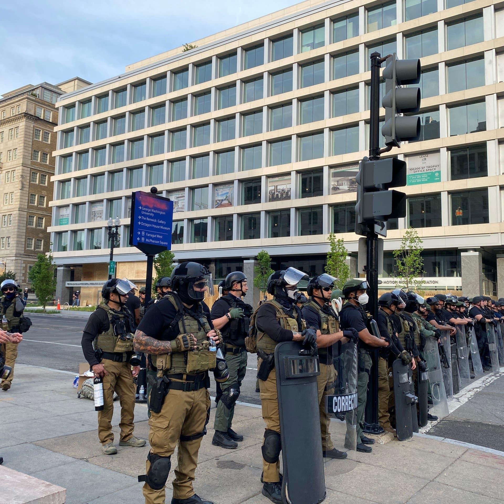البنتاغون تأمر بمغادرة الجنود المتبقين في منطقة واشنطن