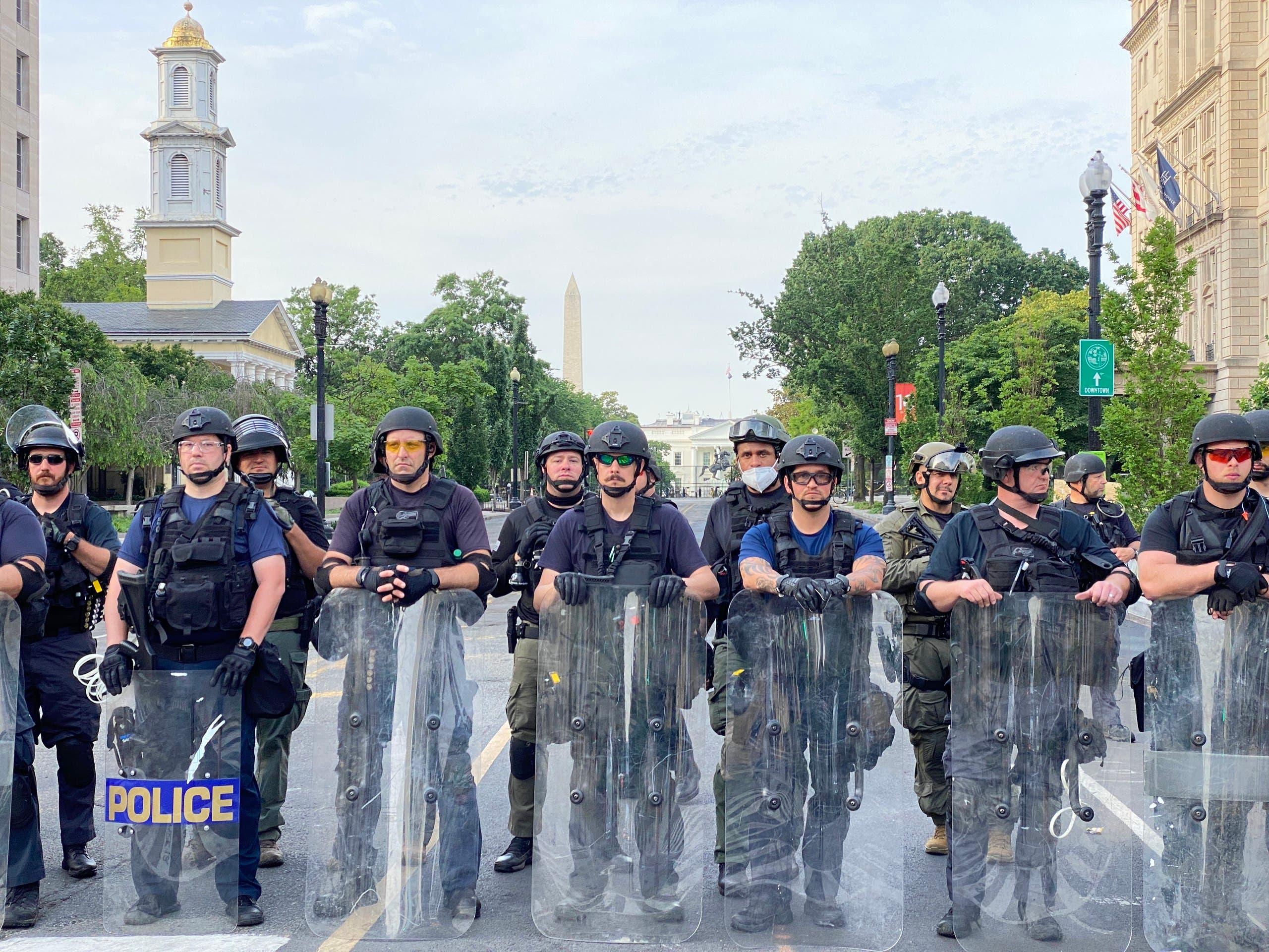 من واشنطن يوم 3 يونيو (فرانس برس)