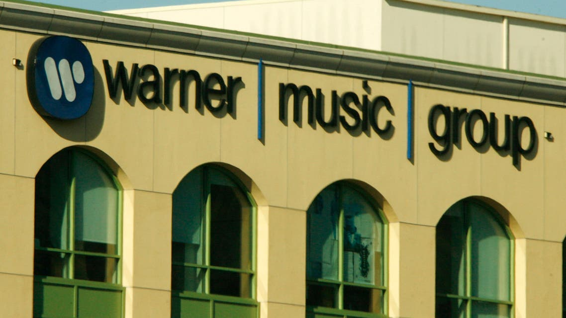 The headquarters of Warner Music Group is pictured in Burbank, California. (File photo: Reuters)