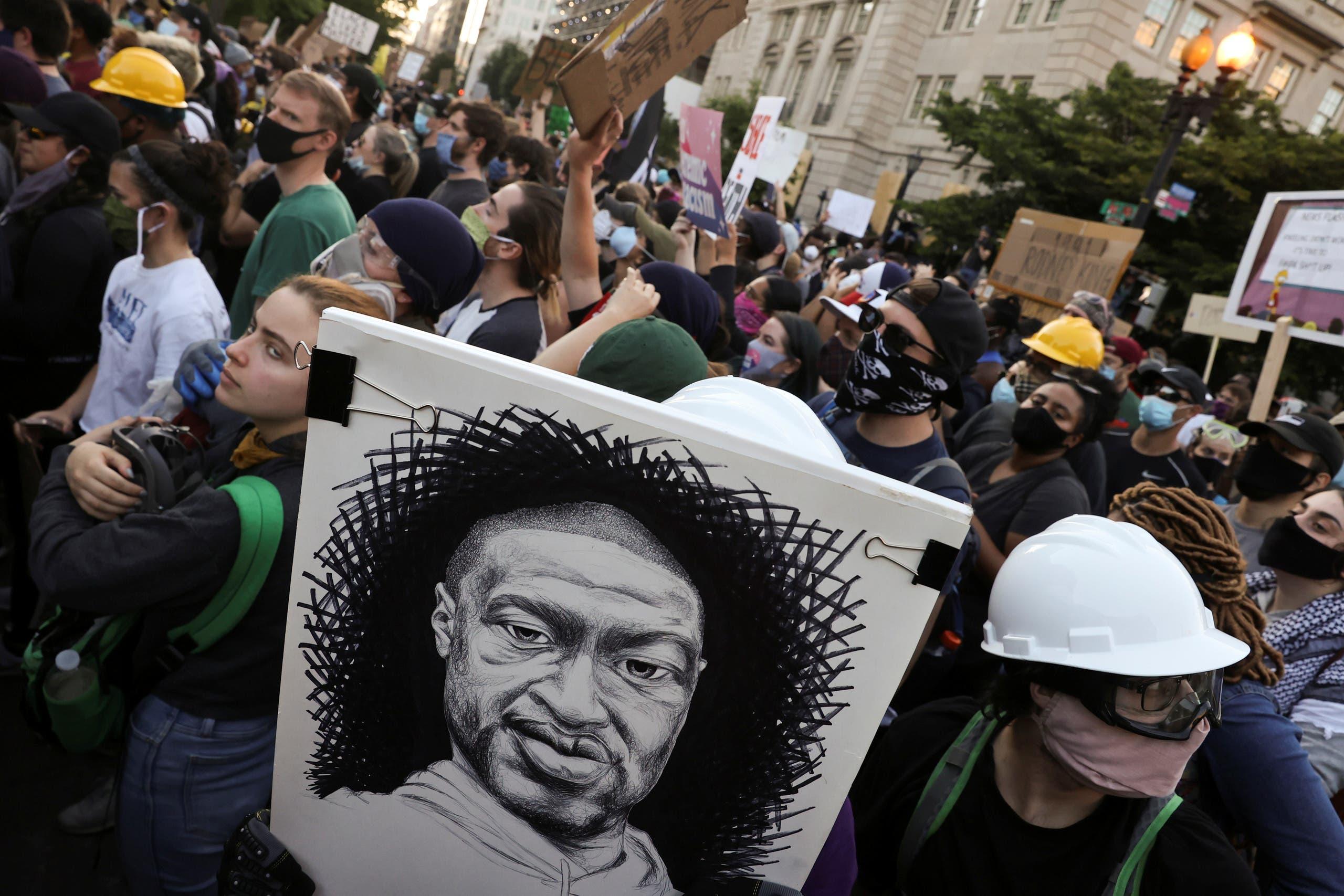 من مظاهرات أميركا - رويترز - 6 -3 - 2020