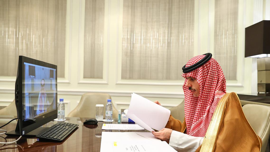 Minister of Foreign Affairs Faisal bin Farhan al-Saud. (Twitter)