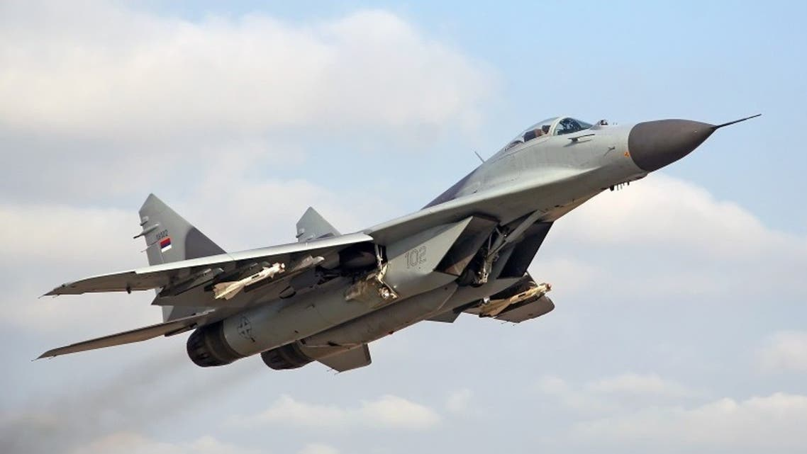 Russia sends second batch of advanced MiG-29 fighter jets to Syria. (Twitter/@RusEmbSyria)