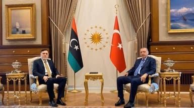 أردوغان يواصل عناده ويتعهد باستمرار دعم ميليشيات السراج