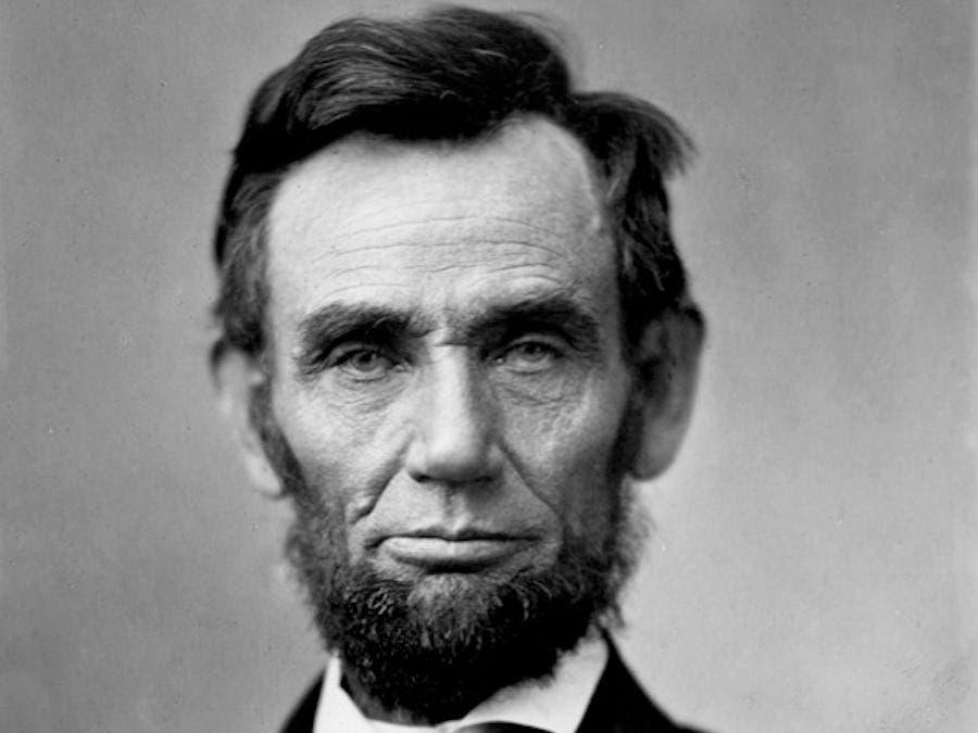 صورة للرئيس أبراهام لينكولن