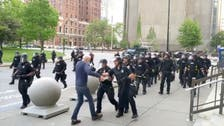 Buffalo officers quit after colleagues suspended for seriously injuring protester