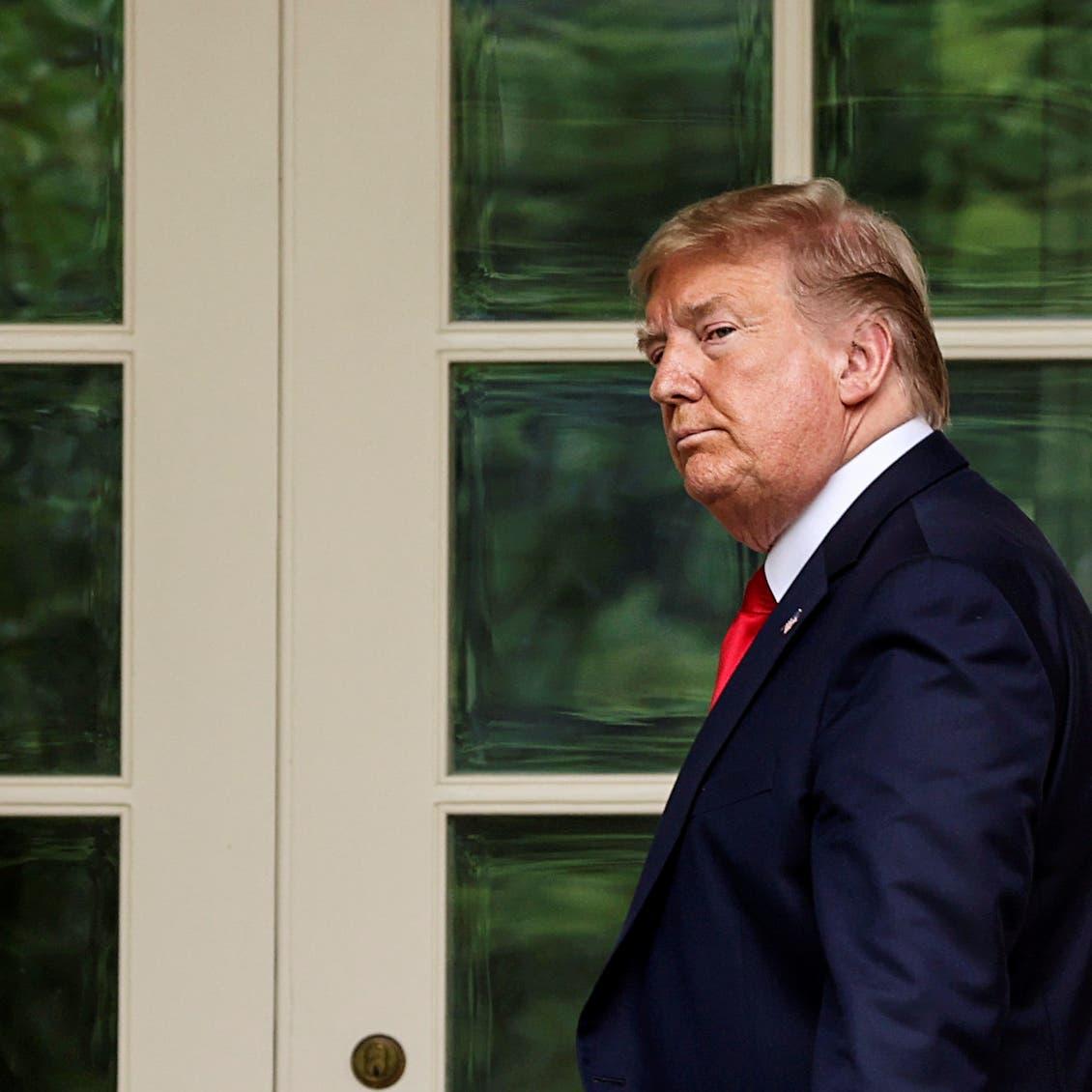 ترمب: عار ألا يفعل الكونغرس شيئاً بشأن إحراق العلم الأميركي