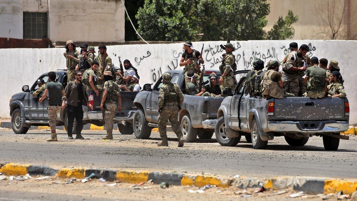 عناصر تابعة للوفاق الليبية