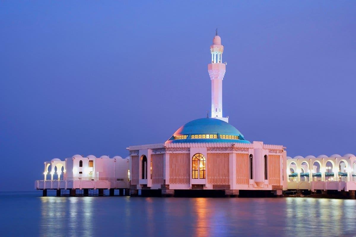 مسجد على كورنيش جدة