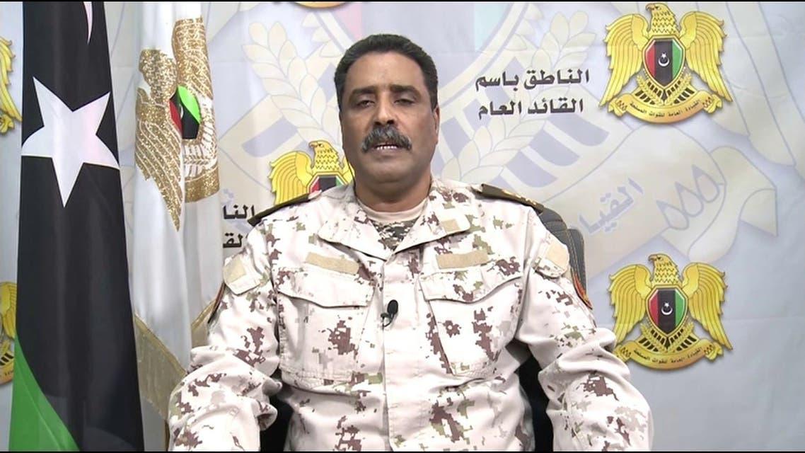 Libyan National Army spokesperson Major General Ahmed al-Mismari