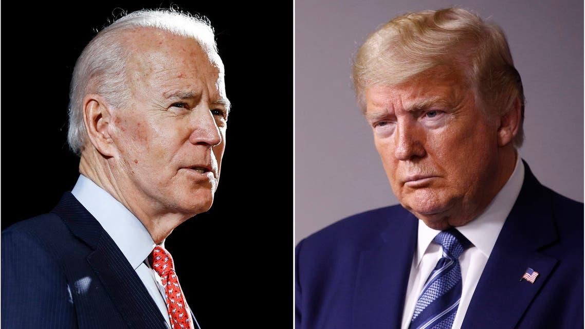 Former Vice President Joe Biden (L) and President Donald Trump (R).  (File Photo: AP)