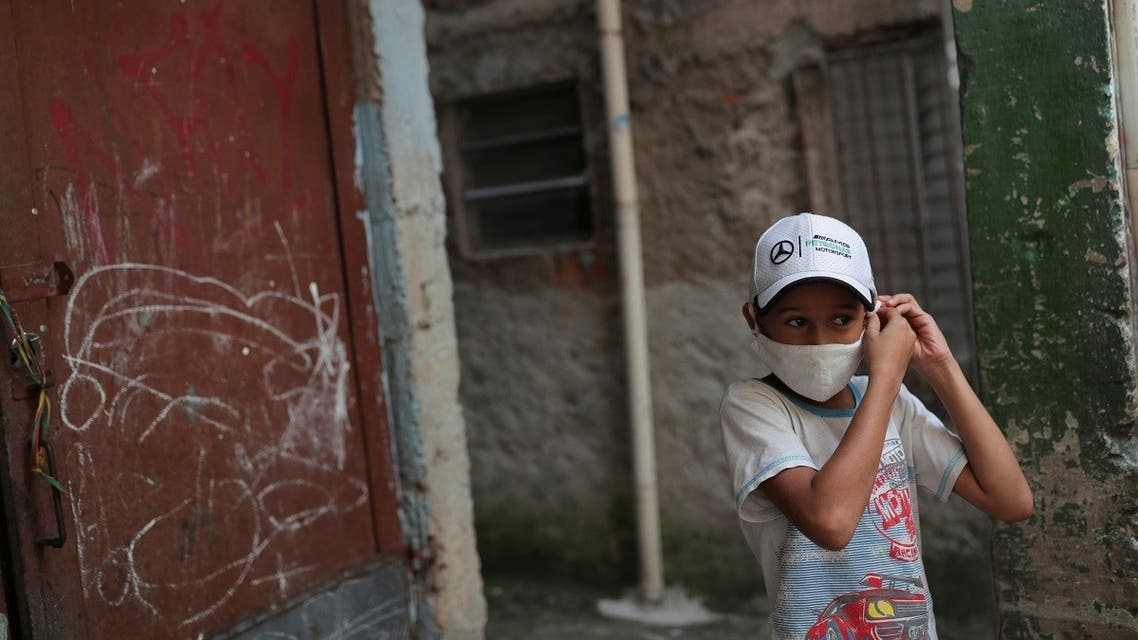 Residents of the city's biggest slum Paraisopolis have hired a round-the-clock private medical service to fight the coronavirus disease (COVID-19), in Sao Paulo. (Reuters)