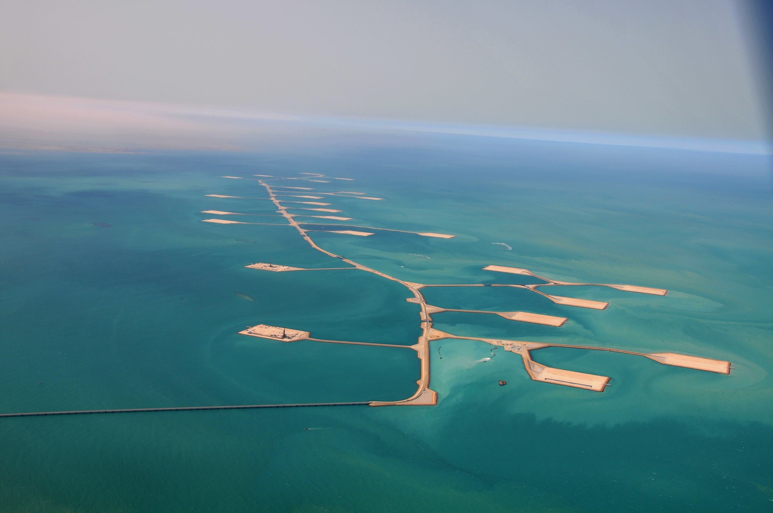 Saudi Aramco's Manifa field and biodiversity protection area. (Supplied)