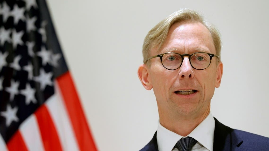 Brian Hook, U.S. Special Representative for Iran, speaks at a news conference in London, Britain. (File photo: Reuters)