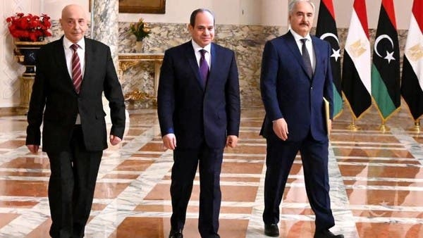 إعلان القاهرة.. السيسي يعلن مبادرة سياسية لإنهاء أزمة ليبيا