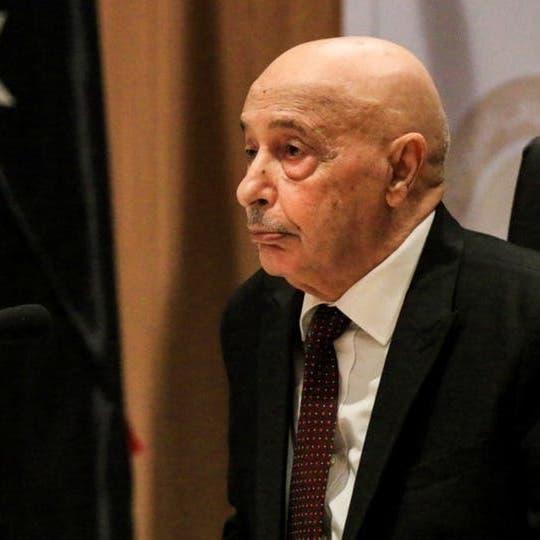 عقيلة صالح: الشعب الليبي يطلب رسمياً من مصر التدخل العسكري
