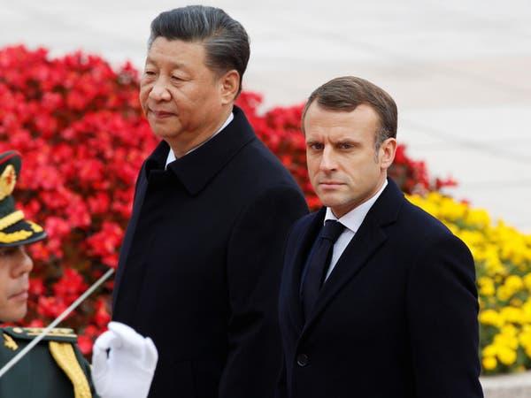 رئيسا الصين وفرنسا يناقشان إدارة وباء كورونا وديون إفريقيا