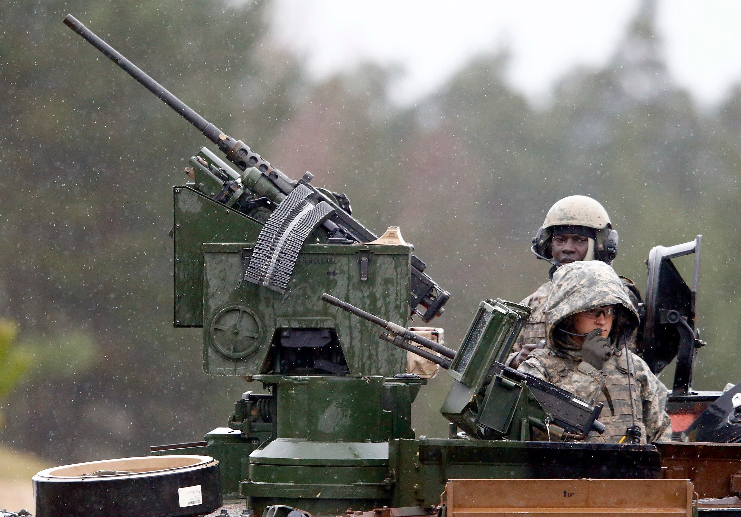 جنود أميركيون في قاعدة عسكرية بألمانيا