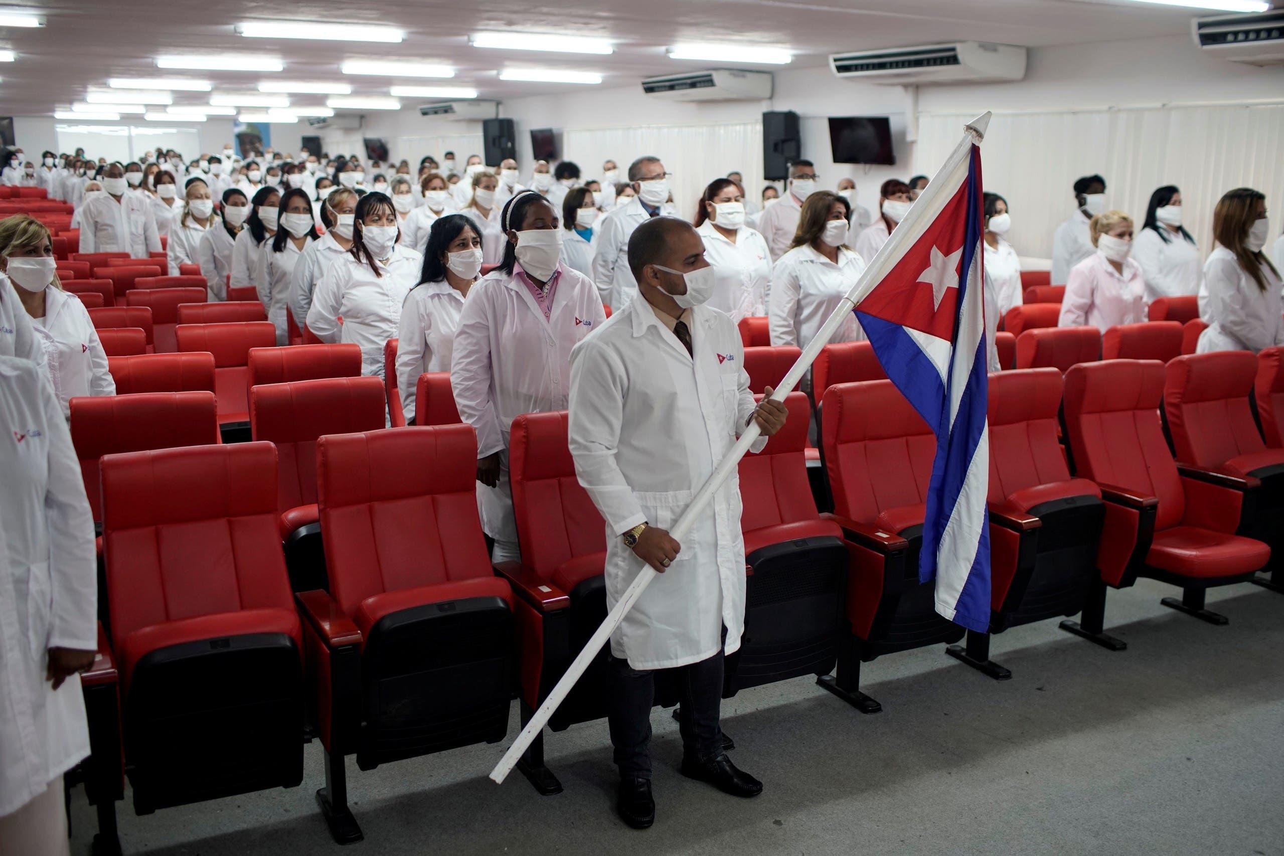 أطباء من كوبا يستعدون للذهاب إلى الكويت للمساعدة على محاربة كورونا