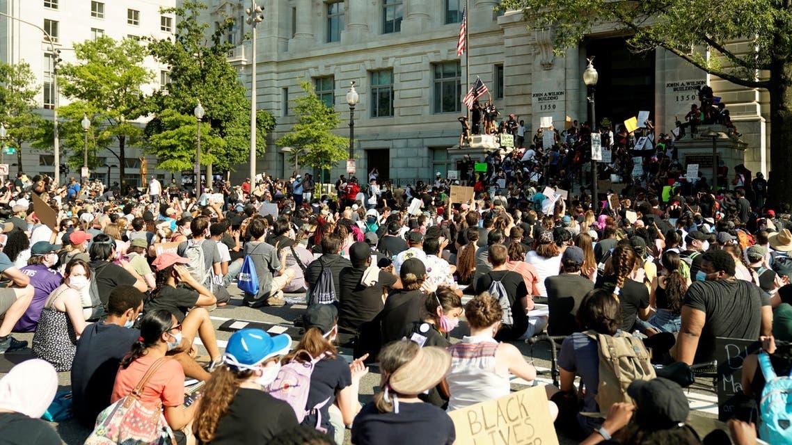 احتجاجات في واشنطن(أرشيفية- رويترز)