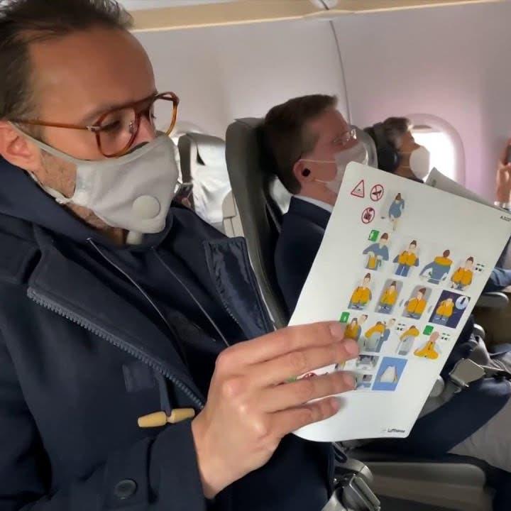 العربية توثق مشاهد من تدابير السفر الجديدة في المطارات والطائرات