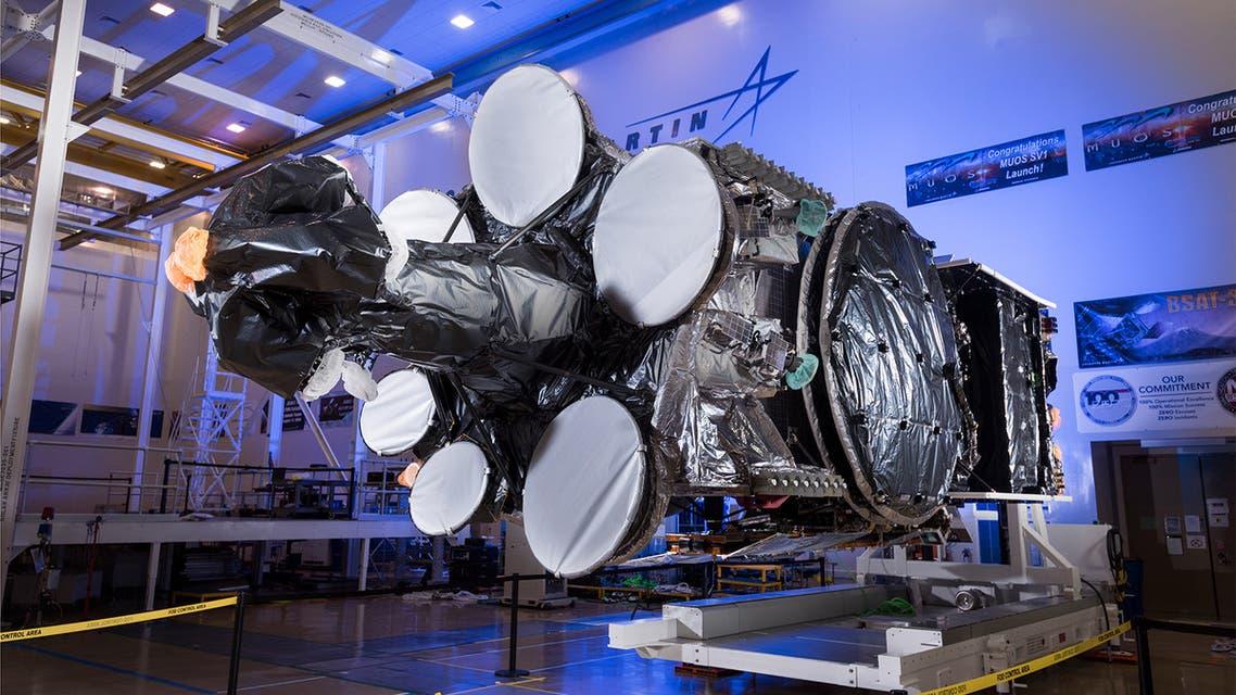 The SaudiGeoSat-1 satellite. (Supplied)