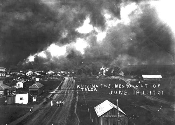 عدد من الحرائق بحي غرينوود