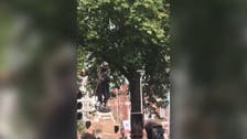 UK slave trader's statue in Bristol toppled in anti-racism protest