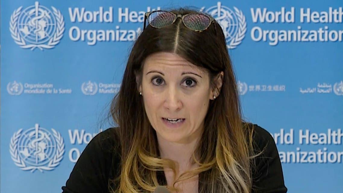 Maria Van Kerkhove, WHO. (AFP)