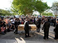 بدء مراسم جنازة جورج فلويد قبل مواراته في تكساس