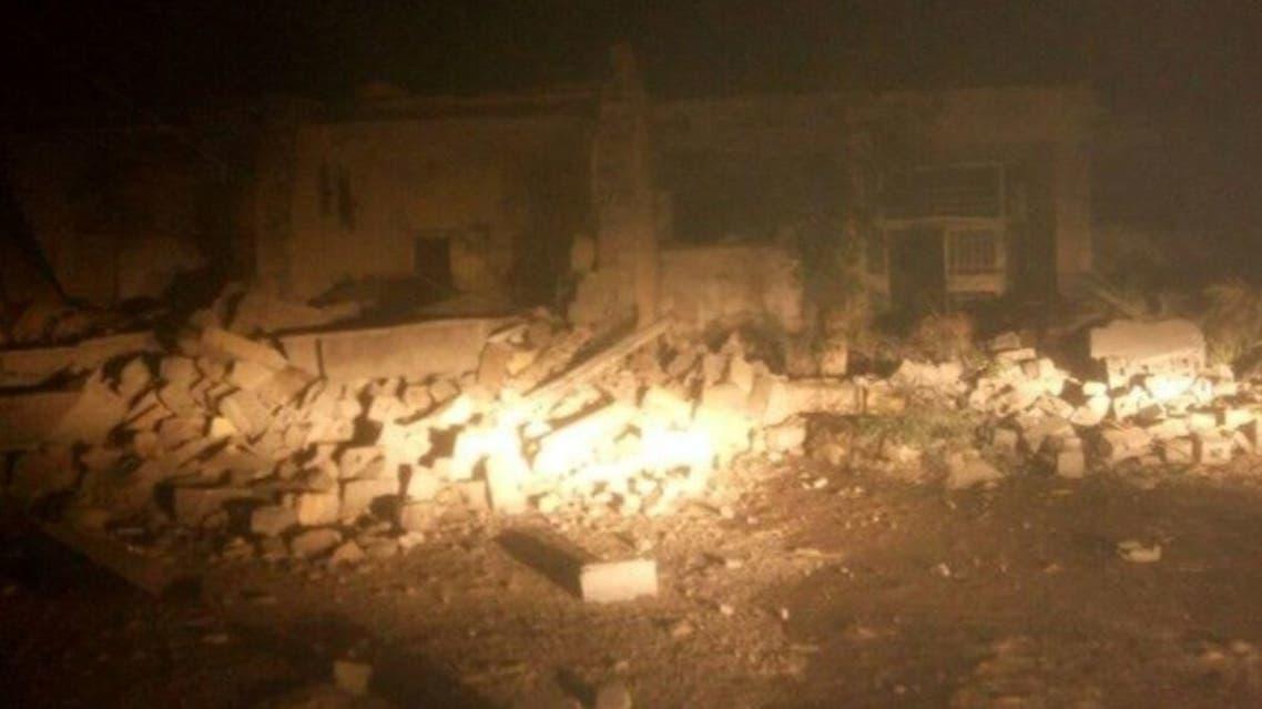 إيران زلزال